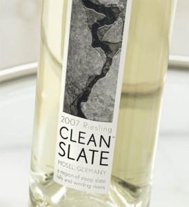 clean slate Riesling 2007