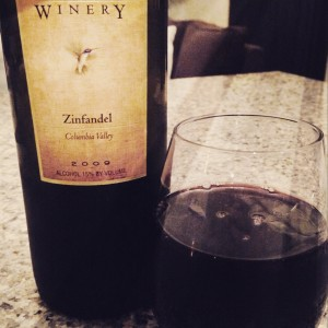 Natalie's Estate Winery Zin 2009