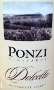 ponzi dolcetto 2009